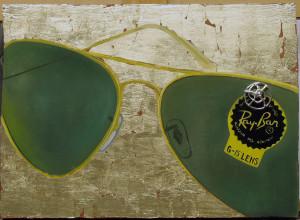 OLIO E FOGLIA D'ORO SU TAVOLA DEL 1500- oil and gold leaf on 1500's wood